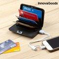 Πορτοφόλι για Κάρτες Ασφαλείας και Power Bank InnovaGoods