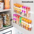 Αυτοκόλλητη και Διαχωρίσιμη Μπαχαριέρα InnovaGoods με 20 κουτάκια μπαχαρικών