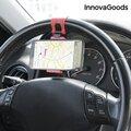Βάση Στήριξης για Κινητά για το Τιμόνι του Αυτοκινήτου InnovaGoods
