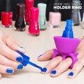 Δαχτυλίδι-Βάση Στήριξης για Βερνίκι Νυχιών Home Nail Salon