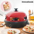 Φούρνος για Μίνι Πίτσες με Βιβλίο Συνταγών Presto! InnovaGoods 700W Κόκκινος Μαύρος